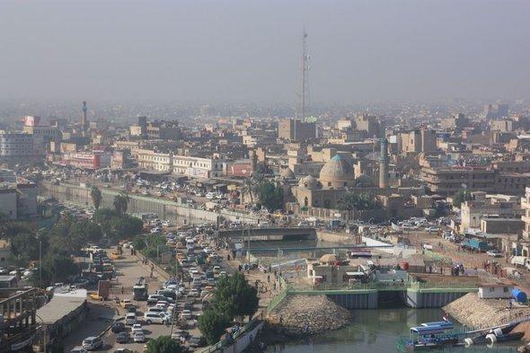 منظر لمدينة البصرة. الصورة: يان كولمان