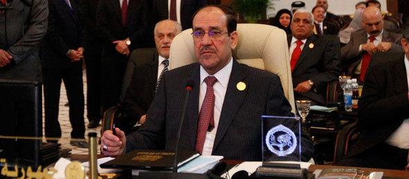 رئيس الوزراء العراقي نوري المالكي. رويترز
