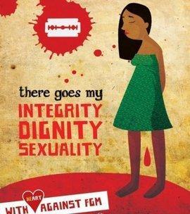 شعار إحدى الحملات المناهضة لختان الإناث