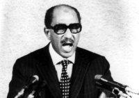 الرئيس المصري الأسبق: أنور السادات. أ ب