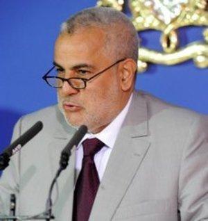 رئيس الوزراء وورئيس حزب العدالة والتنمية عبد الإله ابن كيران.  غيتي إميجيس