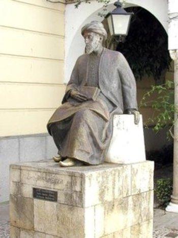 العالِم اليهودي الأندلسي موسى بن ميمون. ويكيبيديا