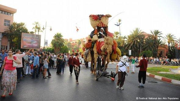 مهرجان الفنون الشعبية في المغرب