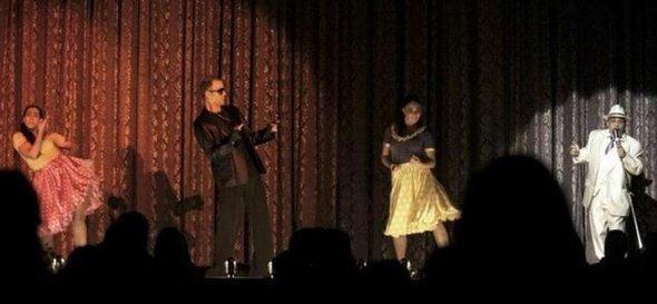 كوميديا مسرحية لبنانية. تصوير: خلدون زين الدين