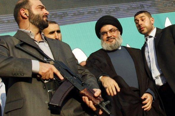 زعيم حزب الله: حسن نصر الله في بيروت. رويترز
