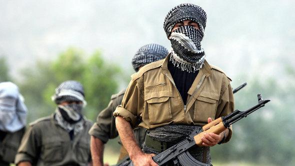 مقاتلون من حزب العمال الكردستاني في شمال العراق. غيتي إميجيس