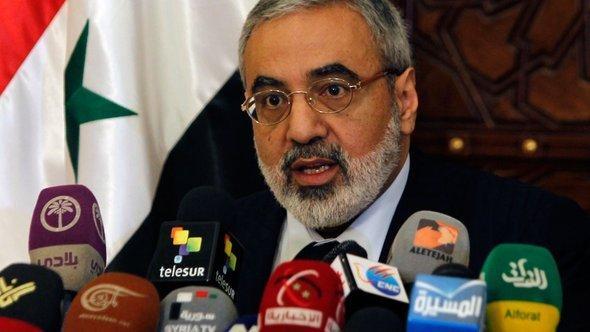 وزير الإعلام السوري عمران الزعبي. رويترز