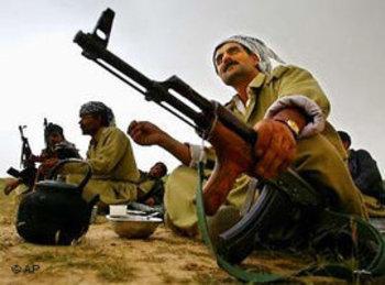 مقاتلو البشمركة في كردستان العراق. أ ب