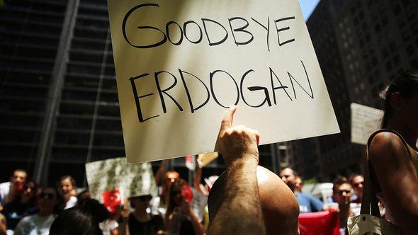 مظاهرات ضد الحكومة في اسطنبول في 5 يونيو حزيران 2013. Getty images  أ ف ب