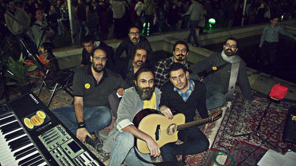 فرقة الروك الإيرانية Nioosh Band . حقوق الصورة   Nioosh Band