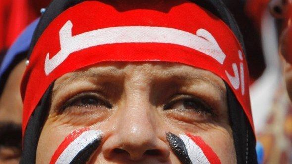 متظاهر ضد مرسي في القاهرة. أ ب