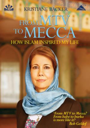 غلاف كتاب كريستيانه باكر     من قناة أم تي في إلى مكة.  Arcadia Verlag
