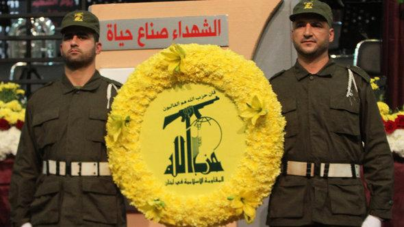 Parade der Hisbollah in Beirut; Foto: Anwar Amro/AFP/Getty Images
