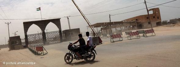 معبر رفح جنوب غزة. د ب أ