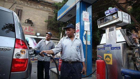 محطة وقود في القاهرة. غيتي إميجيس