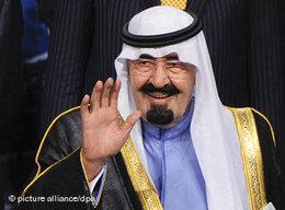 Saudi-Arabia's King Abdullah (photo: picture-alliance/dpa)