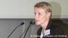 سوزانه فوربس، المسؤولة بالمكتب الاتحادي لشؤون الهجرة واللاجئين