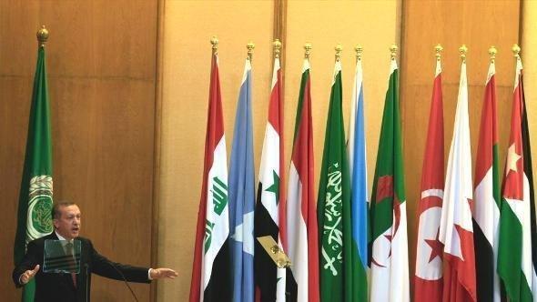 زيارة رئيس الوزراء التركي إردوغان إلى القاهرة في سبتمبر 2011. أ ب