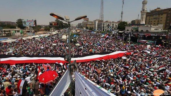 Solidaritätsdemonstration für den entmachteten Präsidenten Mursi in Kairo; Foto: AFP/Getty Images