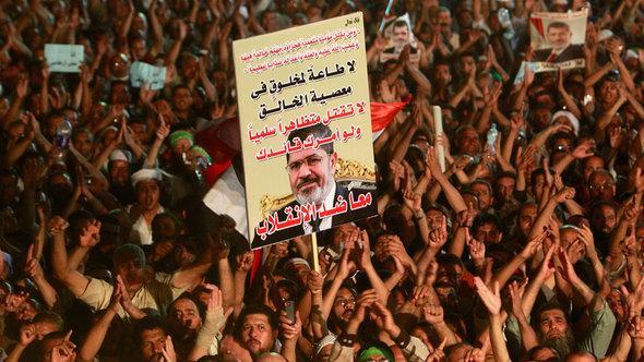 أنصار مرسي في القاهرة. رويترز
