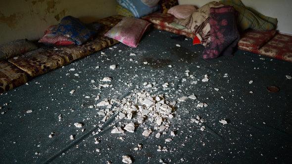 في أحد منازل حلب. أ ف ب غيتي إميجيس
