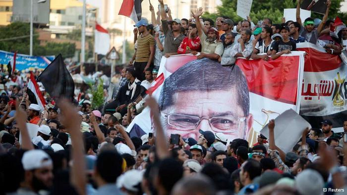 مظاهرات لمؤيدي مرسي في القاهرة.