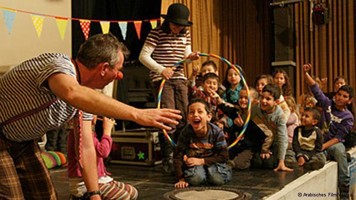 فرحة الأطفال في احتفال العيد