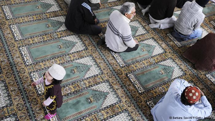 صلاة العيد في أحد مساجد ألمانيا