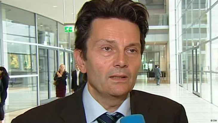 رولف موتسنيش مسؤول السياسة الخارجية في كتلة الحزب الديمقراطي الاشتراكي