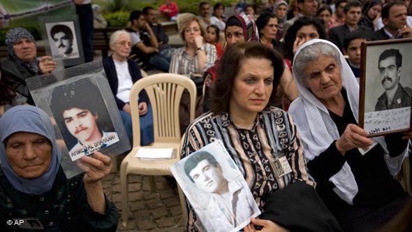 حملة للبحث عن مفقودي الحرب الأهلية اللبنانية. أ ب
