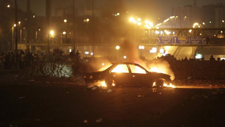 مواجهات في مدينة نصر 27 يوليو 2013.  رويترز