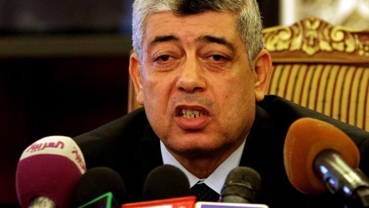 وزير الداخلية المصري محمد إبراهيم. dpa