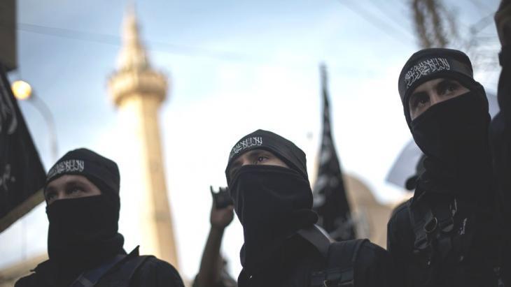 جهاديون في دير الزور. Getty Images