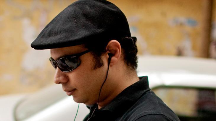 أحمد ماهر. مؤسس حركة 6 إبريل المصرية. Foto: dapd