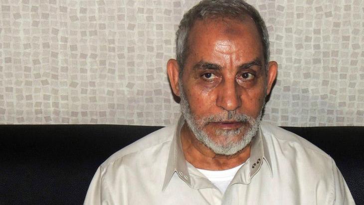 محمد بديع المرشد العام للإخوان المسلمين. رويترز