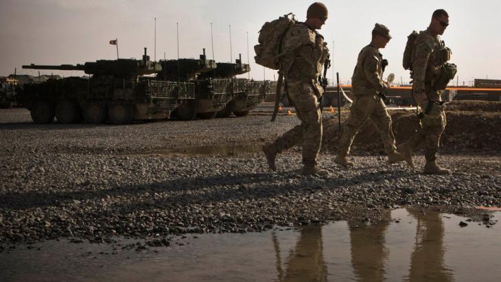 قوات أمريكية في ولاية قندهار الأفغانية. Foto: Reuters