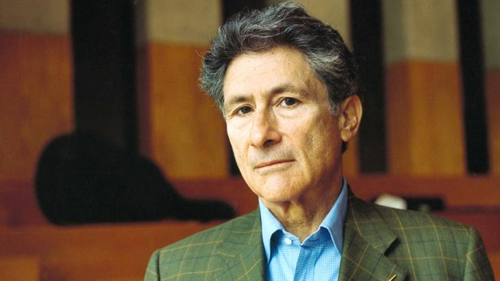 Edward Said in photograph from 1999 (photo: dpa)
