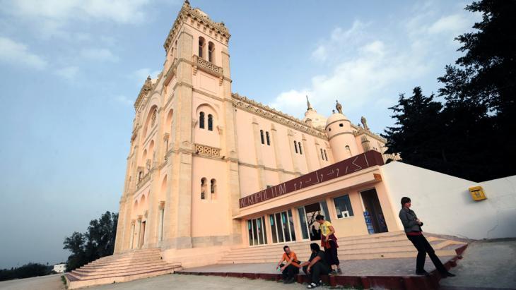 كاتدرائية القديس لويس في قرطاج بتونس.  Foto: Fethi Belaid/AFP/Getty Images