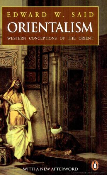 غلاف كتاب الاستشراق للمفكر إدوارد سعيد. source: Penguin