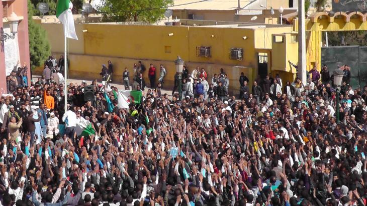 مظاهرة في الجزائر ; Foto: Faiza Souici