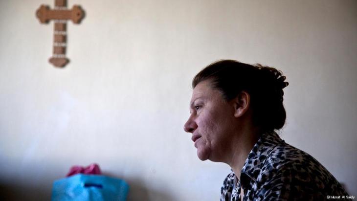 مسيحية عراقية هاجرت إلى لبنان