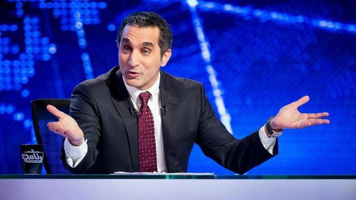 المقدم التلفزيوني الساخر باسم يوسف. Foto: bassem youssef fan page