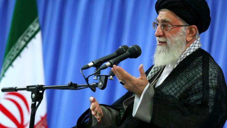 المرشد الأعلى في إيران آية الله علي خامنئي. photo: AP Photo/Office of the Supreme Leader