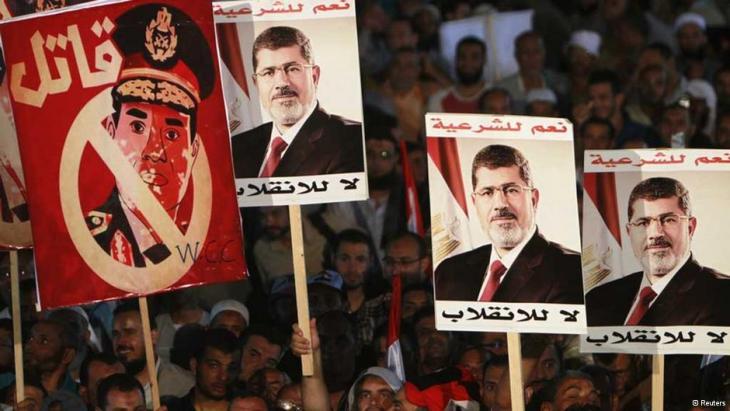 لم يتم حتى الآن فتح تحقيق في طريقة فض اعتصام رابعة العدوية الذي أودى بحياة المئات من أنصار الرئيس المصري المعزول محمد مرسي
