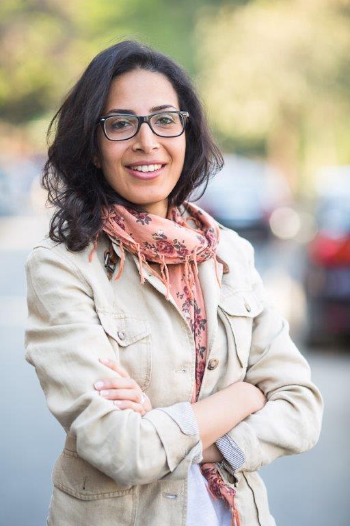 مخرجة الأفلام الوثائقية المصرية منى النجار. Foto: privat