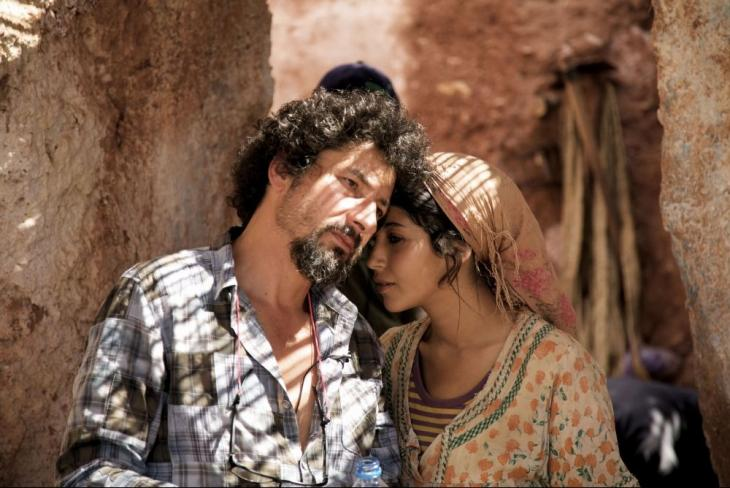 Regisseur Radu Mihăileanu und Leila Bekhti; Foto: Tiberius Film