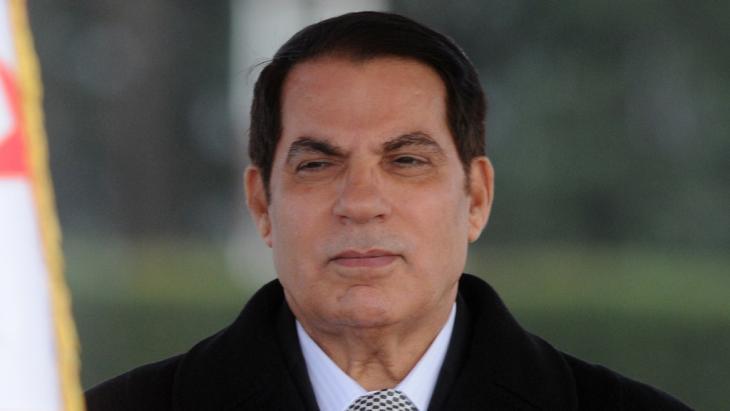 Tunesiens langjähriger Diktator Zine El Abidine Ben Ali; Foto: AP
