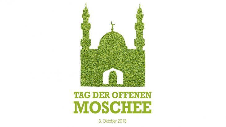 شعار يوم المساجد المفتوحة. Foto: tagderoffenenmoschee.de