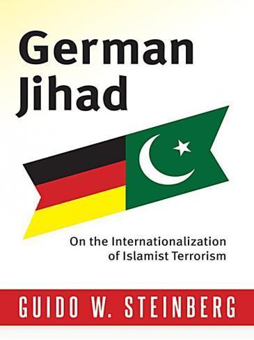 """غلاف كتاب """"الجهاد الألماني"""" لمؤلفه غيدو شتاينبيرغ. image: Columbia University Press"""