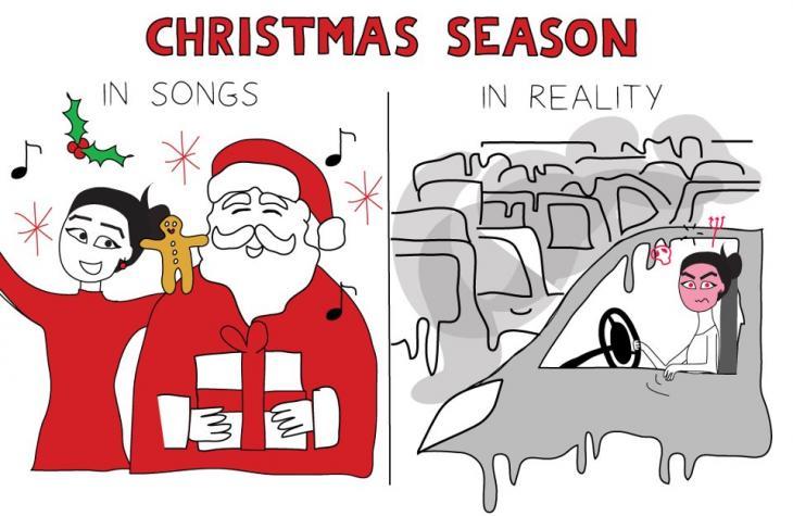 Illustration Christmas Season by Maya Zankoul (image: CC-BY-NC-ND)